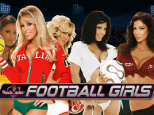 Автомат Benchwarmer Football Girls