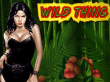 Игровой аппарат Wild Thing